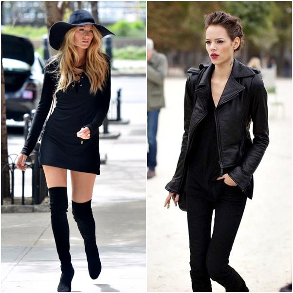 Tendências para o Inverno 2014 preto sexy black