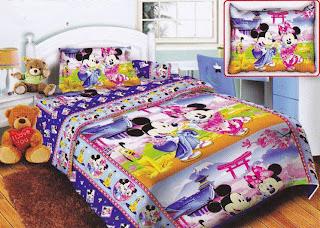 Sprei Belize Mickey Minnie