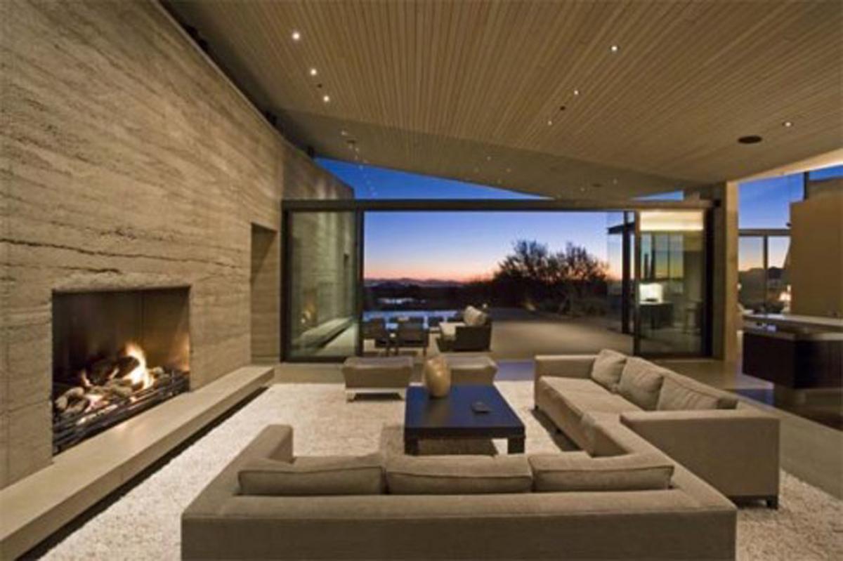 Gambar desain interior minimalis desain ruang tamu for Interior design minimalis