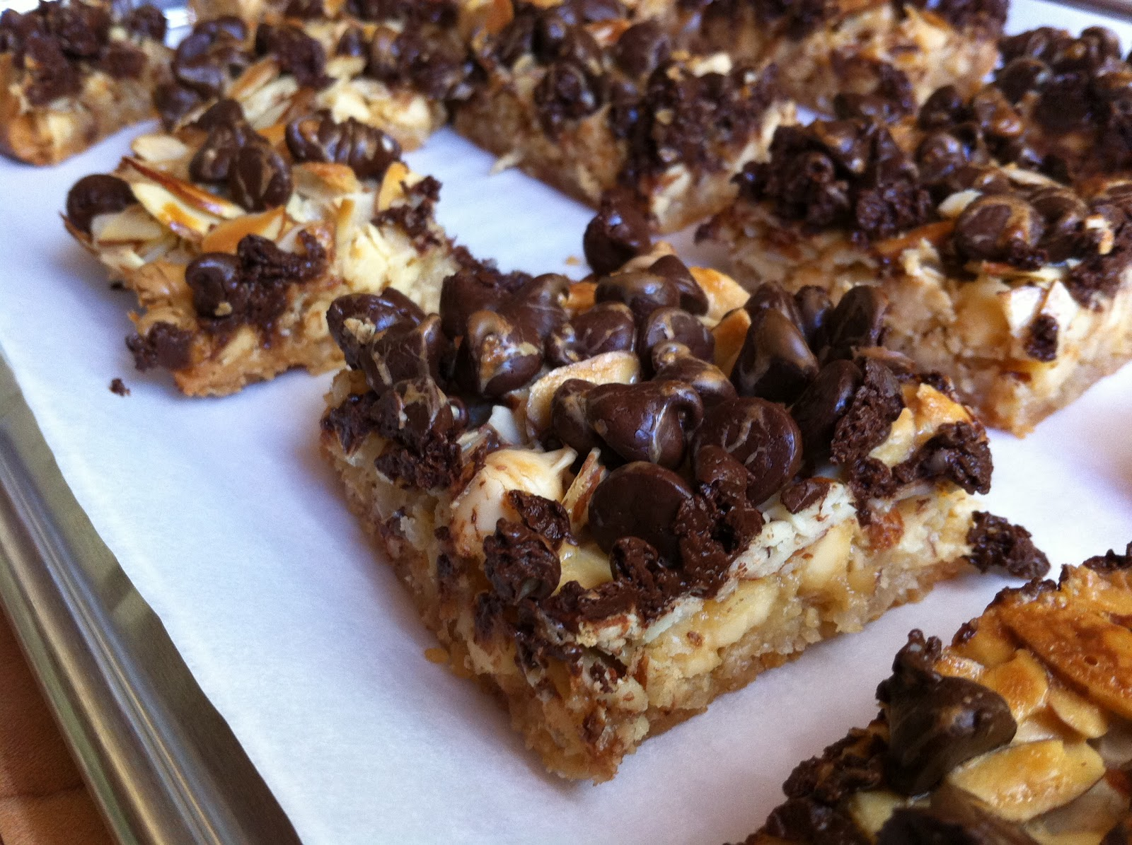 ... and Potatoes Foodie: Sorry I Crashed Your BBQ Bars (Hello Dolly Bars