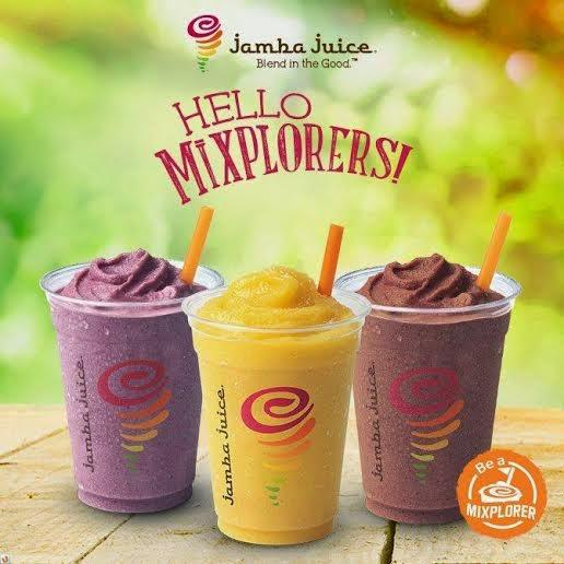 Jamba Juice Mixplorer