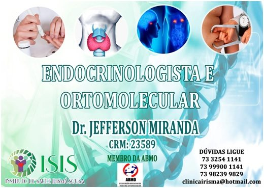 ENDOCRINOLOGISTA E ORTOMOLECULAR