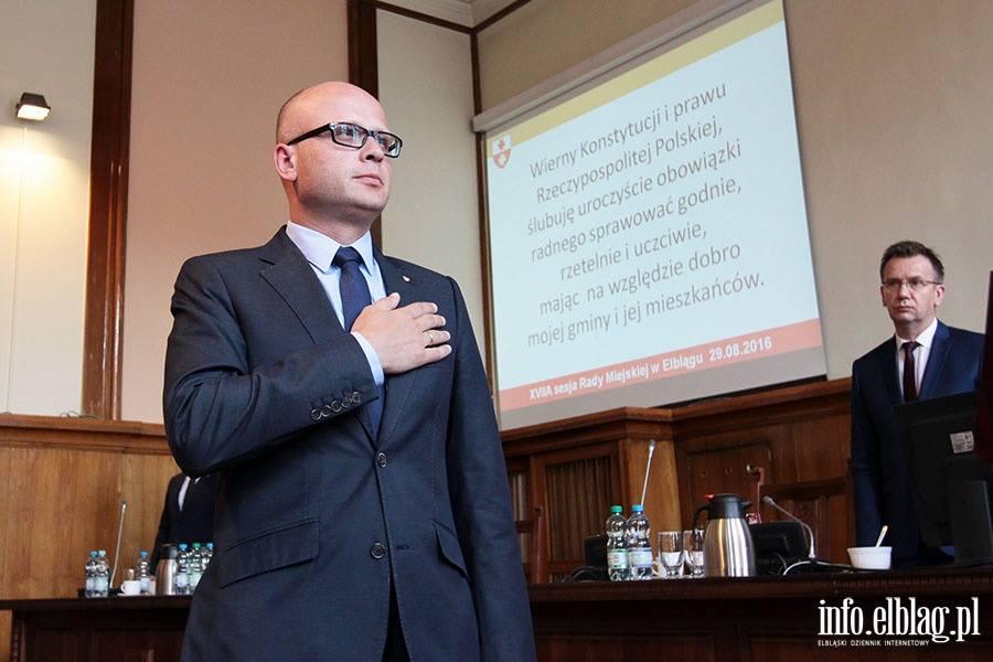 Radny Rady Miejskiej w Elblągu