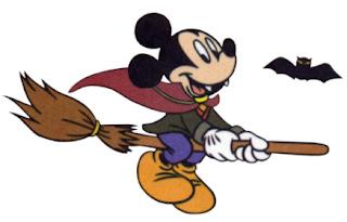 mickey mouse disfrazado de dracula