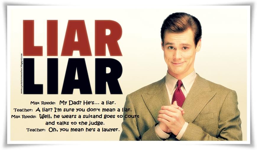 Liar Funny Quotes. QuotesGram