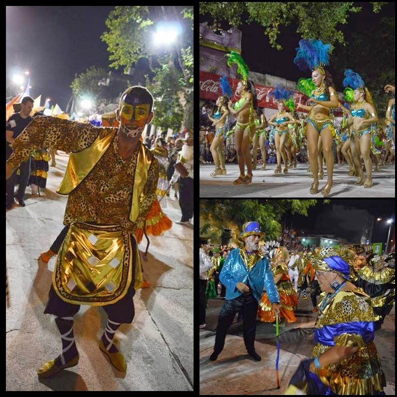 Carnaval. Desfile de Llamadas. La Figari.