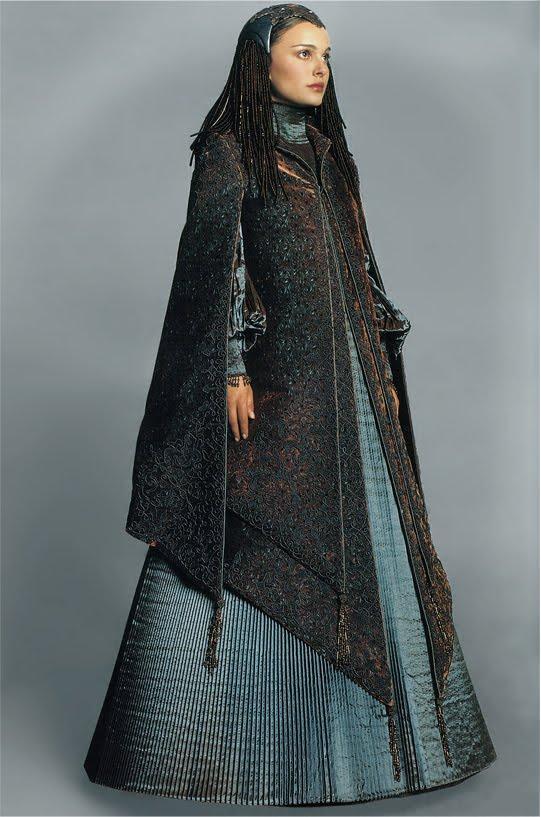 A look into Star Wars: Padmeu0026#39;s dresses. Part XI