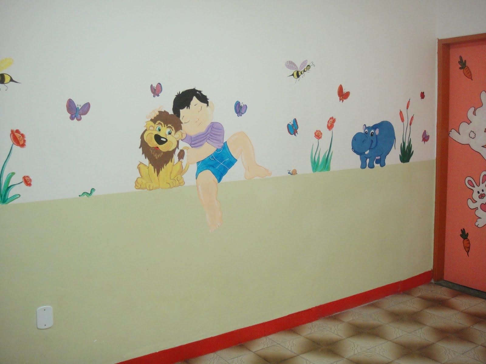 Escolinha Bem Cuidada Desenhos Pinturas E Decora O Para Escolas