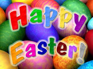 Happy Easter - čestitka za Uskrs