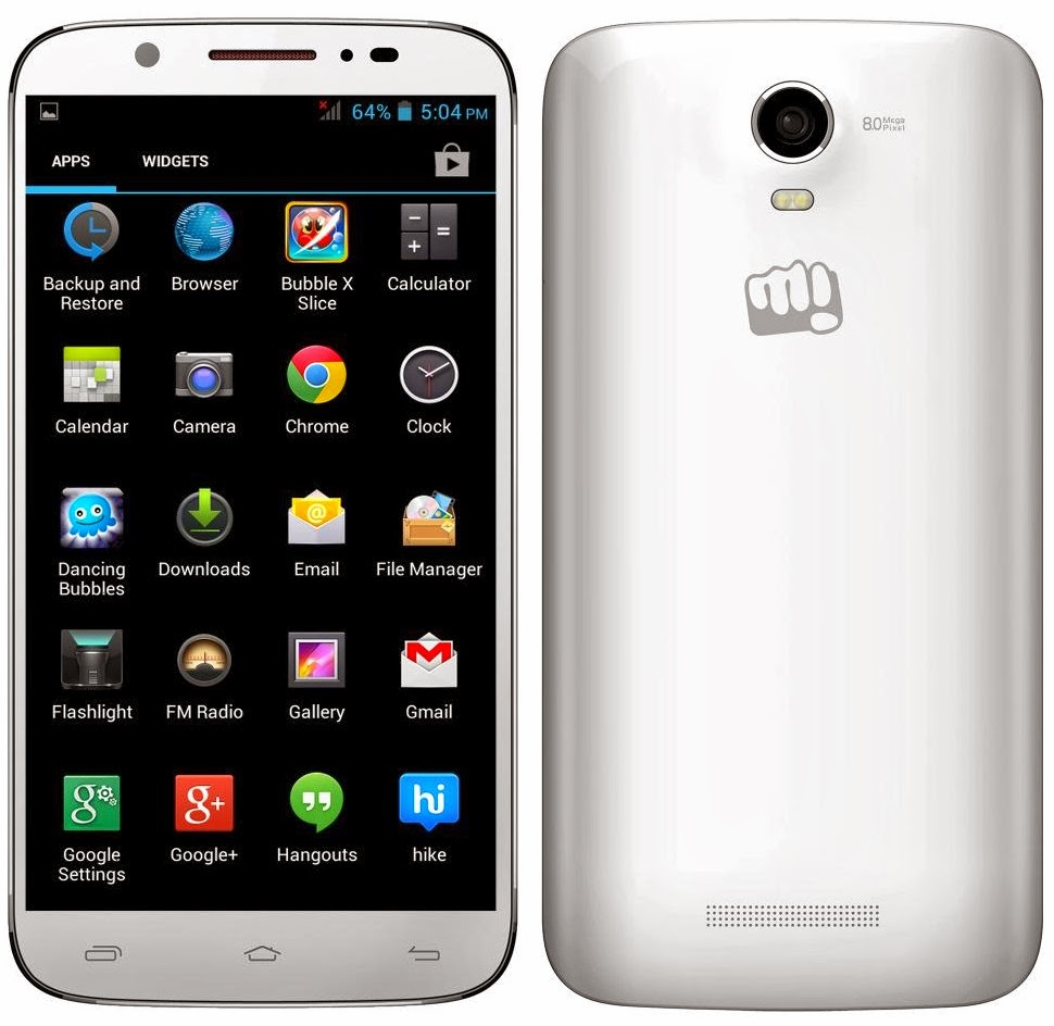 Micromax Canvas XL drawbacks