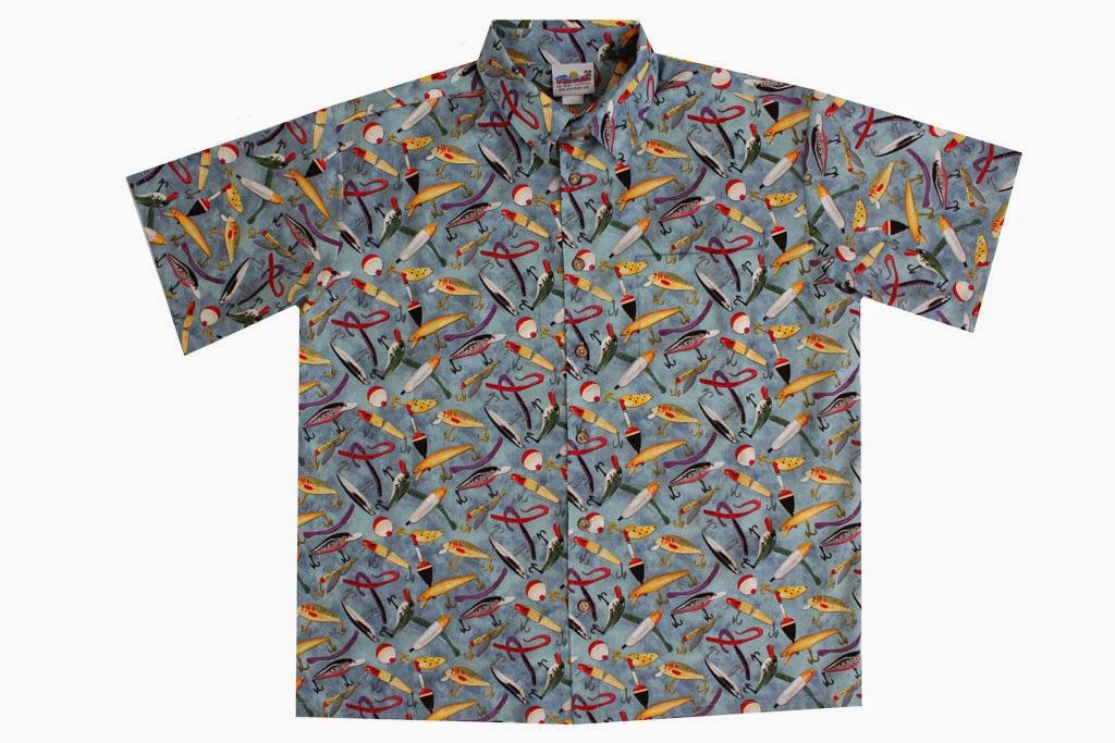 Fishing safaris may 2014 for Fish hawaiian shirt