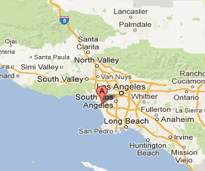 Los_Angeles_earthquake_epicenter_map