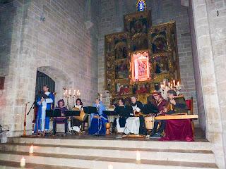 MENESTRILS CONCERT EN SANTA MARIA DEL PUIG