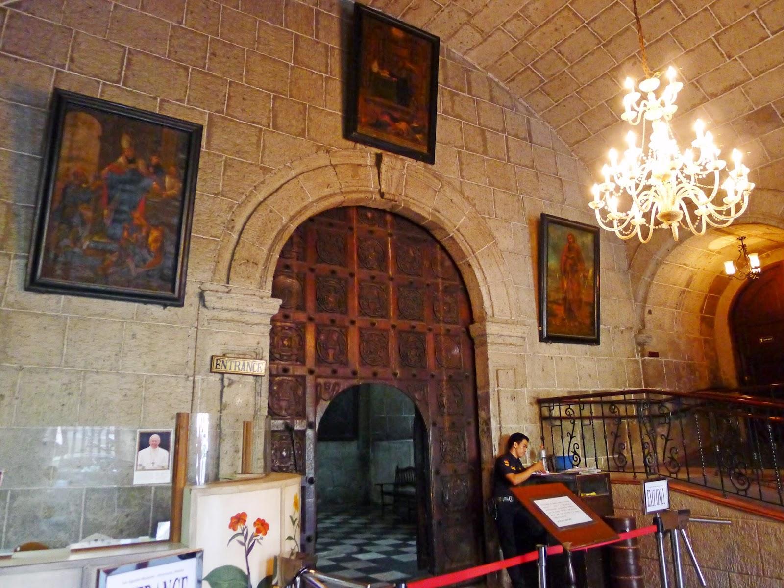 San Agustin Museum Entrance