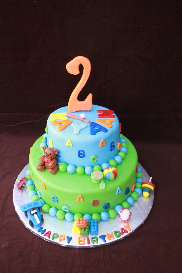 DHANYAS DELIGHTS 2 Yrs Old Boys Cake