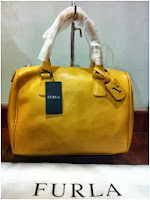 FURLA D LIGHT SATCHEL