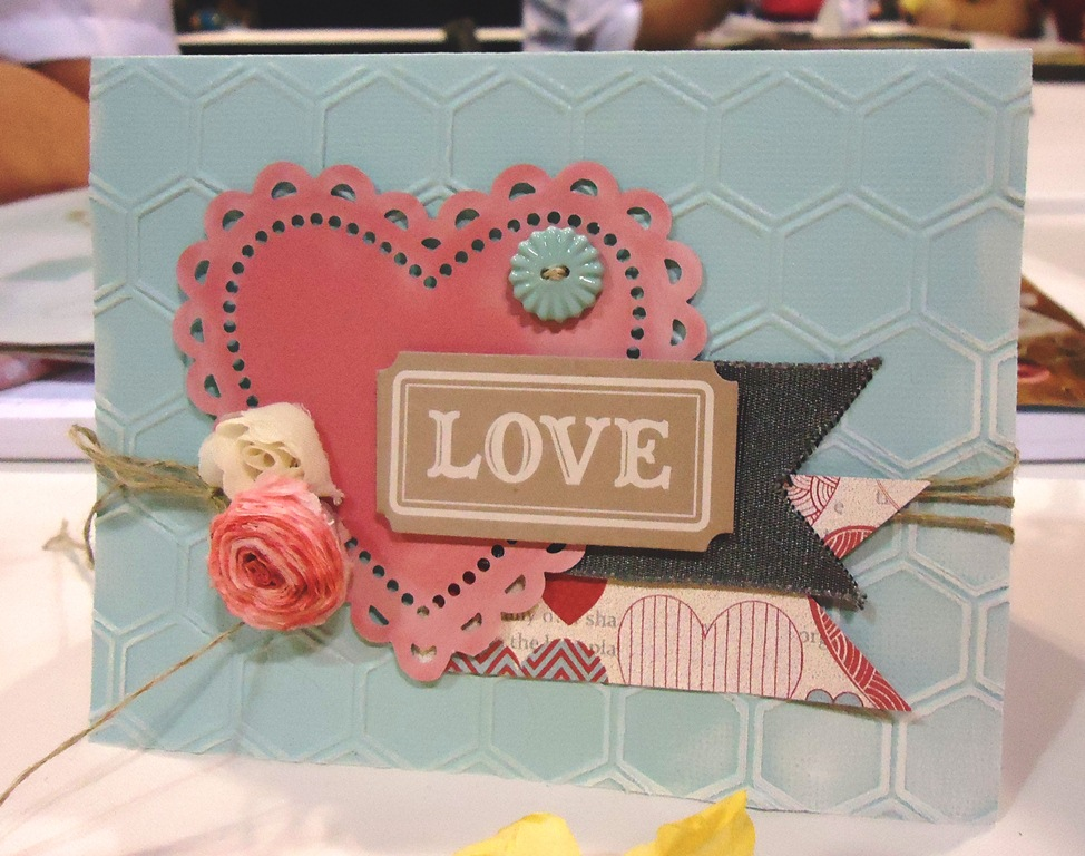 Stampin' Up! More Amore Product Suite Card