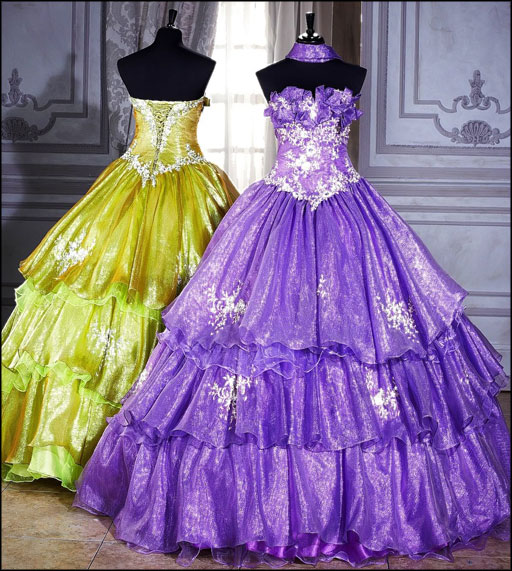 Pics of gypsy wedding dresses