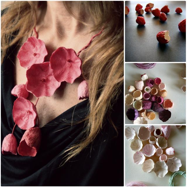 corsi di pittura eco gioielli con fiori di carta ad Abilmente Roma 2015