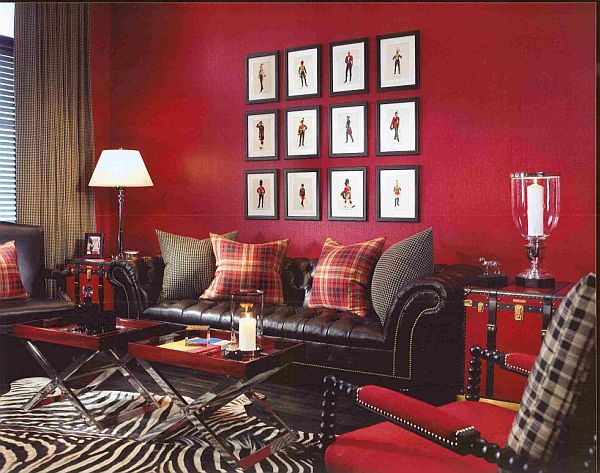 Red Room Wall Decor : The bold and beautiful red room valentine day s
