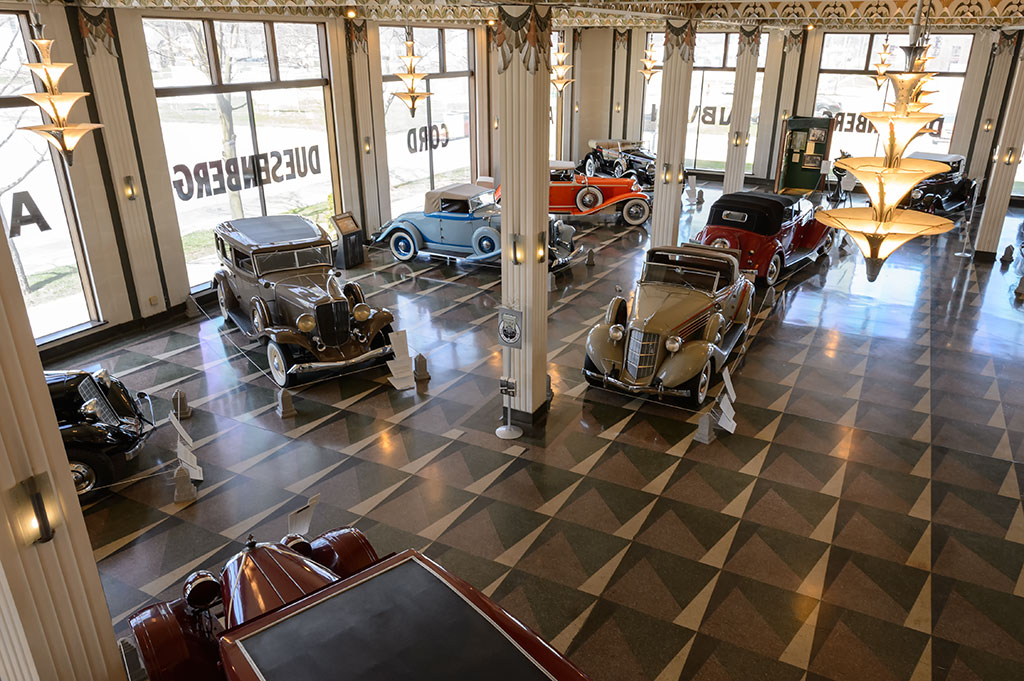 Bubba S Garage Touring The Auburn Cord Duesenberg Museum