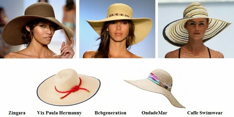 Summer 2014 Women Beach Hat Fashion Trends
