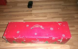 Новогодняя ёлка в коробке