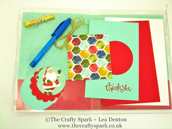 Thank You Santa Card & Tag Kit - Christmas Eve Box & Stocking Fillers