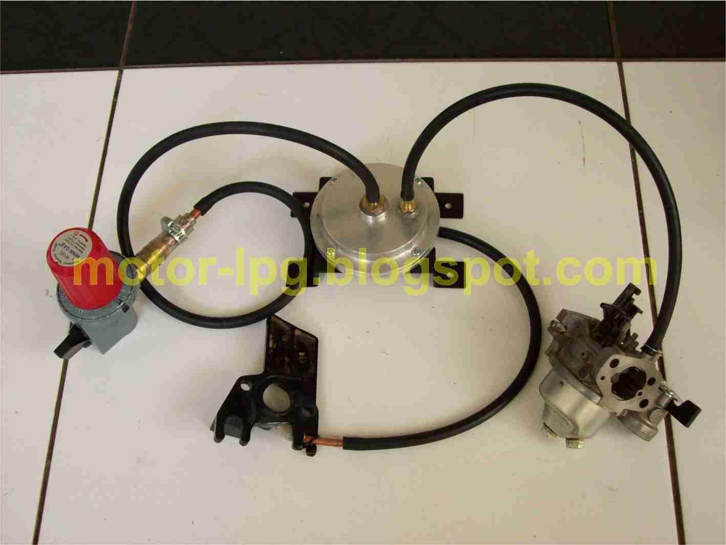 Konverter Kit LPG untuk Sepeda Motor: Membuat Konverter Kit LPG untuk ...