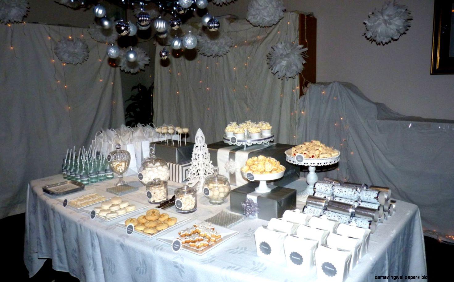 Winter Wonderland Christmas Theme DecorationBubble and Sweet