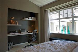 Mammaemamme scrivania fai da te pratica ed economica - Angolo studio in camera da letto ...