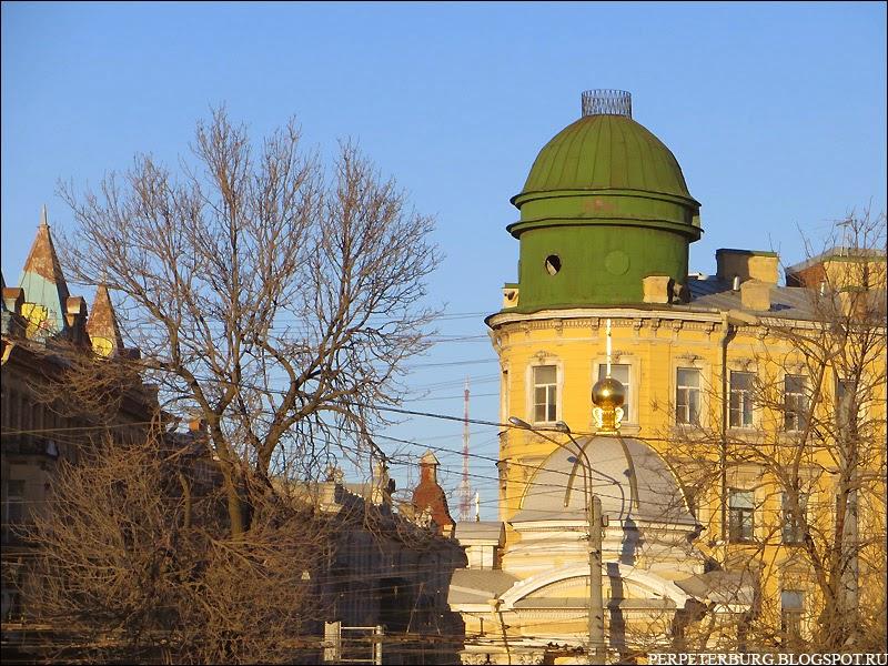 Начало Большого проспекта Петербургской стороны