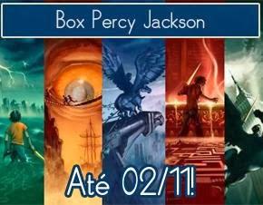 Promoção #56: Box Percy Jackson e os Olimpianos | Ler para