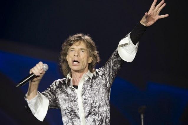 Mick Jagger a Roma
