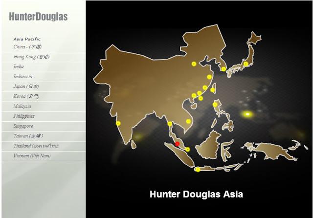 Cty Hunter Douglas Việt Nam