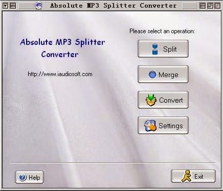 Download Absolute MP3 Splitter & Converter