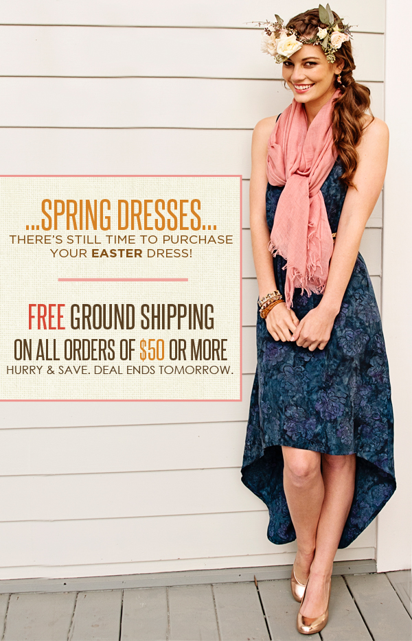Easter Batik Dress