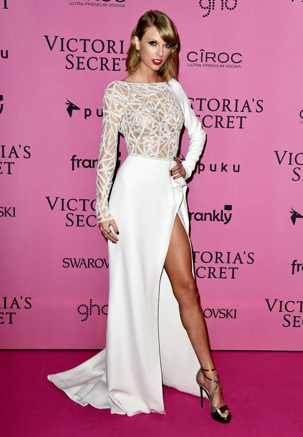 Taylor Swift la petrecera Victoria Secret