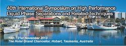 HPLC 2013 - Hobart