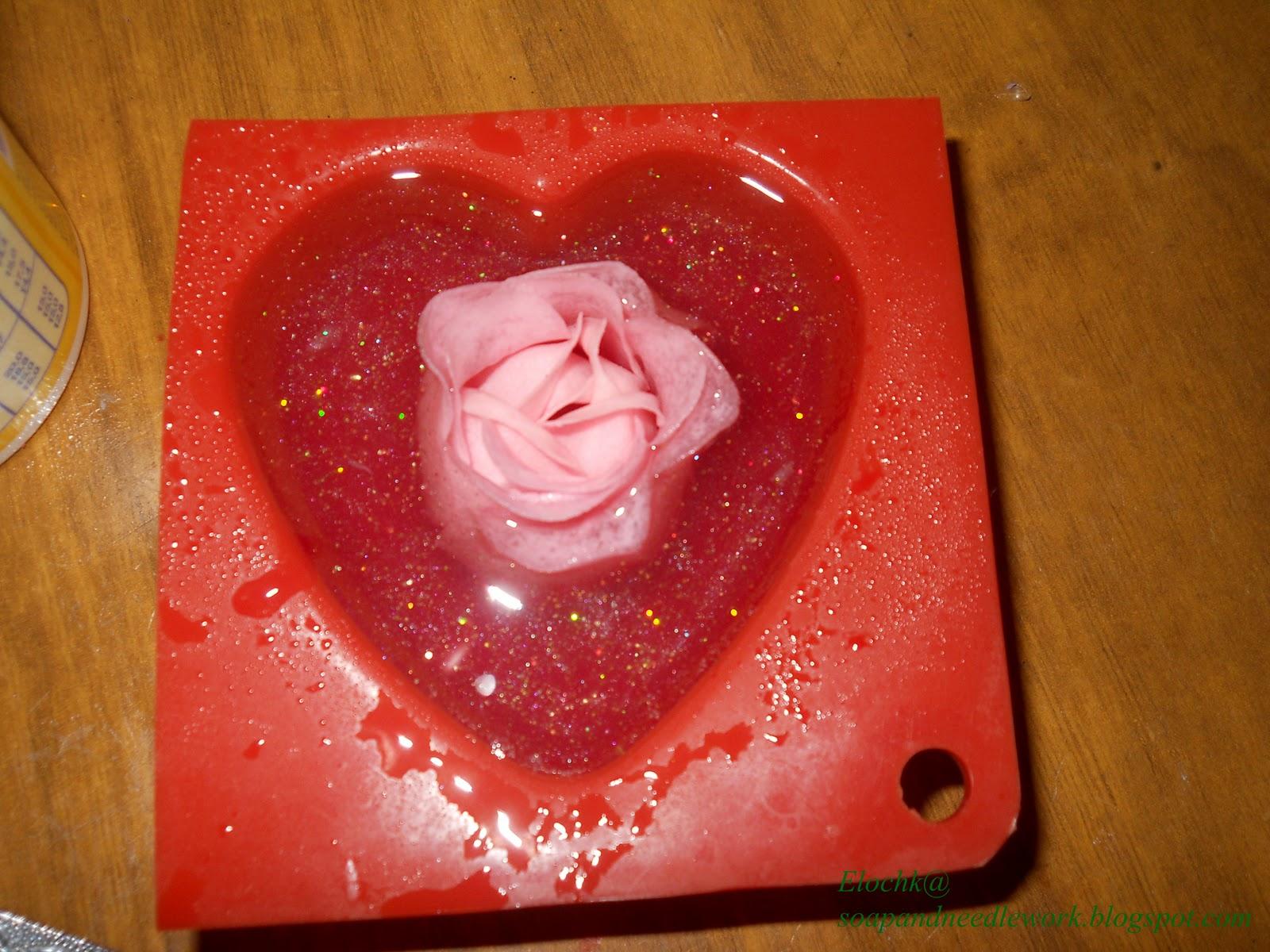 Мыло своими руками с цветами фото