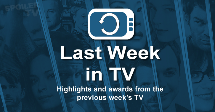 Last Week in TV - June 22 - 28 - Episode Awards and Reviews