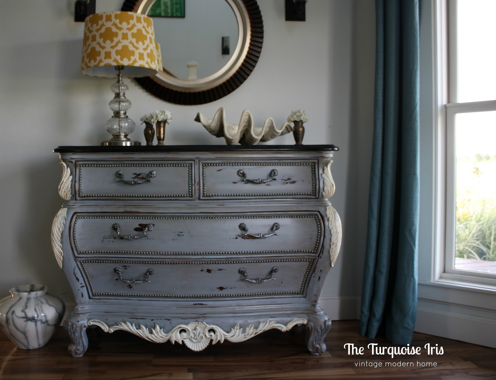 The Turquoise Iris ~ Furniture & Art: French Country Bombay Chest in ...