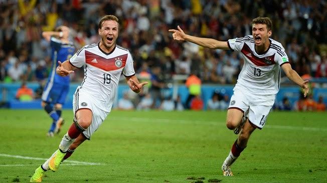 German Juara Piala Dunia 2014