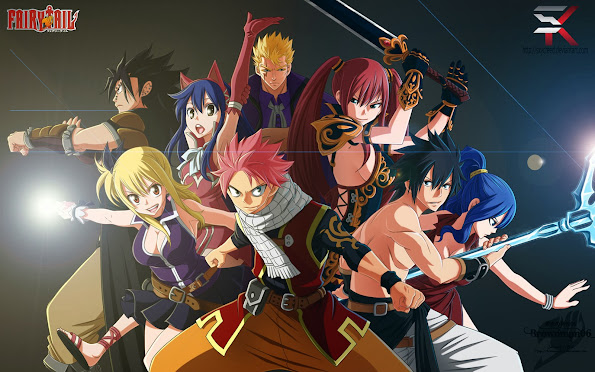 fairy tail character member hd wallpaper