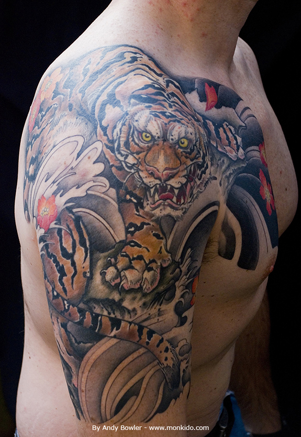 monki do tattoo studio japanese half sleeves and chest plate tattoos by andy andy bowler monki. Black Bedroom Furniture Sets. Home Design Ideas