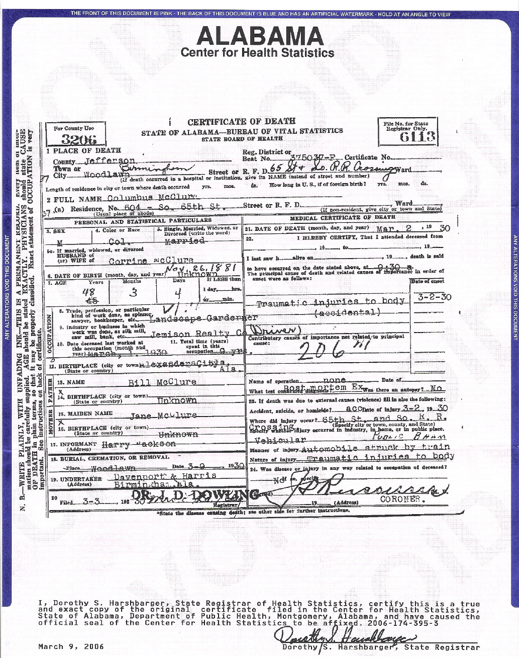 Birmingham al death certificates dr frederick gass west seneca ny jane bunnett rendez vous 934am free weekly cl planner xflitez Choice Image