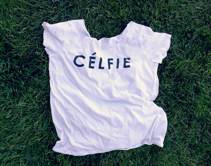 diy slouchy celfie shirt no sew tutorial
