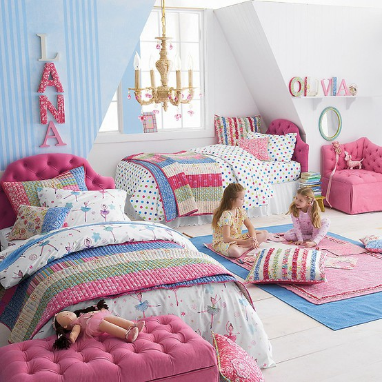 A sense of design: Inspiration for a young girl's room makeover.....