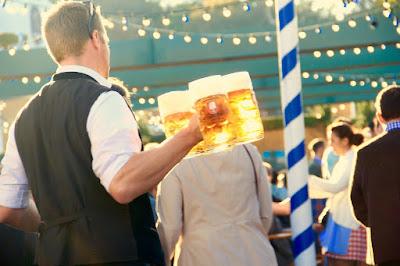beer garden host