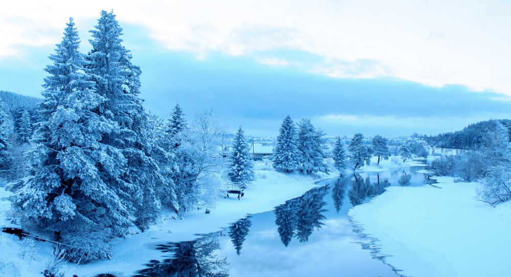Зима. 22 красивые фотографии